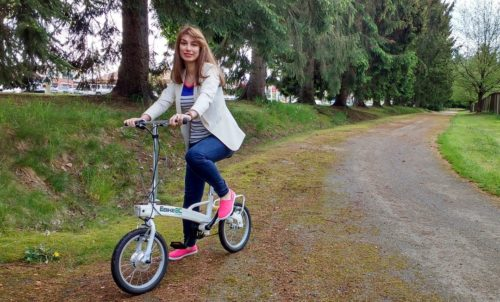 Ultra Light Foldable E-bike