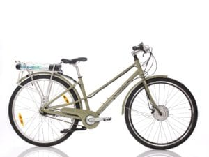 350W Electric Step Through Bike 700C, best retro ebike bc canada, best commuter electric bike canada