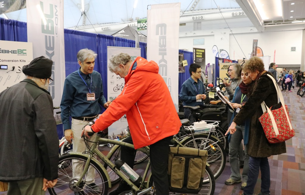 ebikebc booth at the show