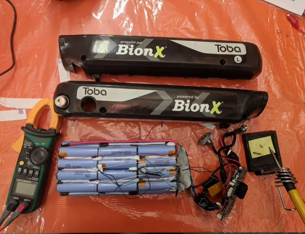 BionX battery repair or refurbish