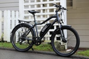 envo ebikebc in front of house