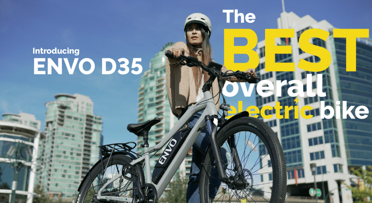 Introducing ENVO D35 Electric Bike