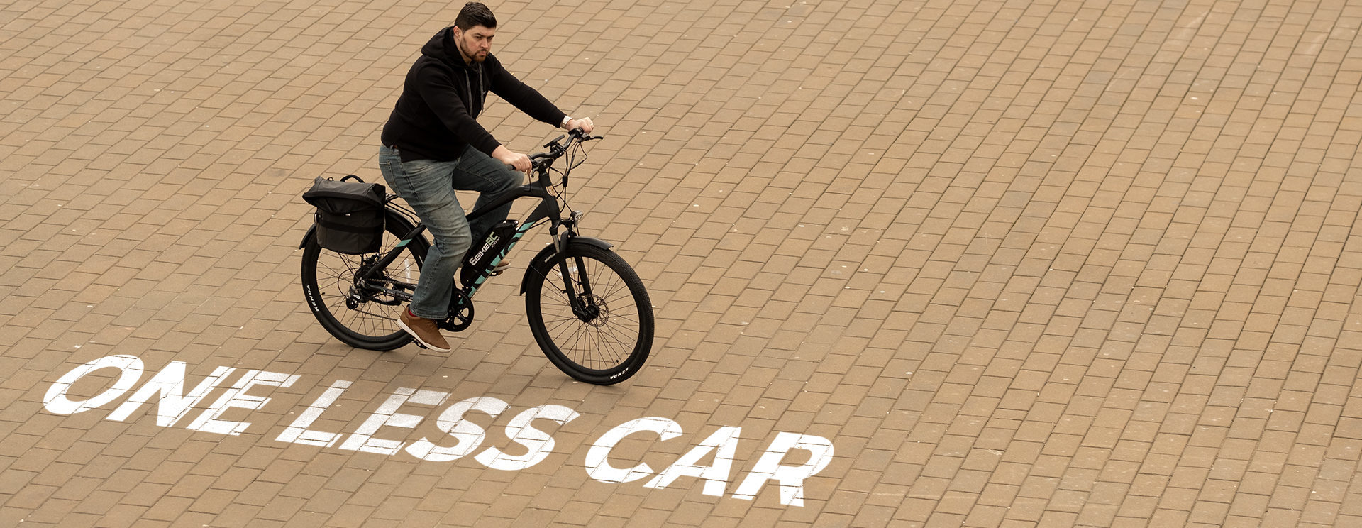 One Less Car, Less Pollution, More Bikes