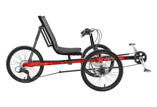 Electric Recumbent trike Eco-Tad SX Tadpole, best electric bike bc, best ebike canada, Recumbent riders, powerful high range electric bike