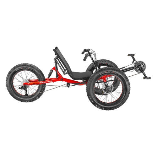 Electric Recumbent-trike Fat-Tad CXs Tadpole
