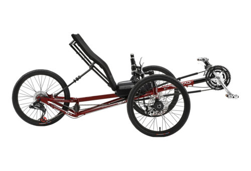 Electric Recumbent-trike EZ-TAD SX Tadpole, best ebike bc, best electric bike canada, Recumbent riders