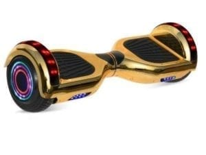 gold hoverboard