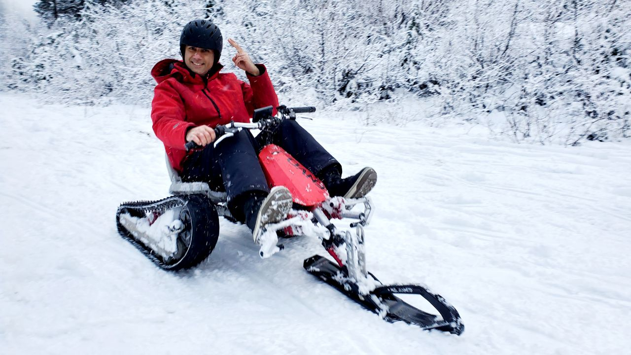 ENVO Electric SnowKart Successfully Tested