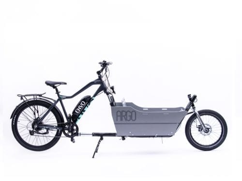 envo ebike with cargo attachment
