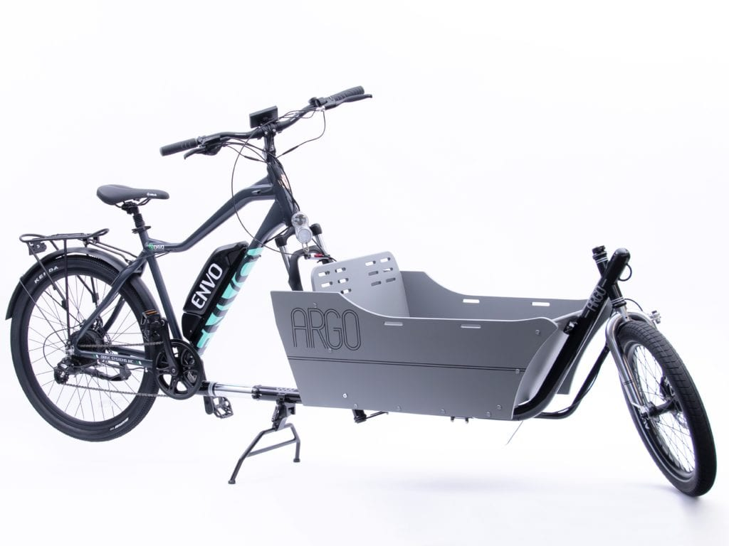 EbikeBC Child cargo add on