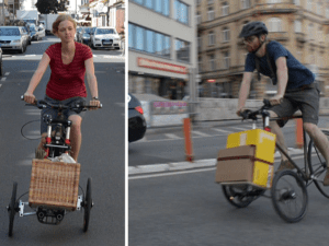 electric bikes with cargo attachments
