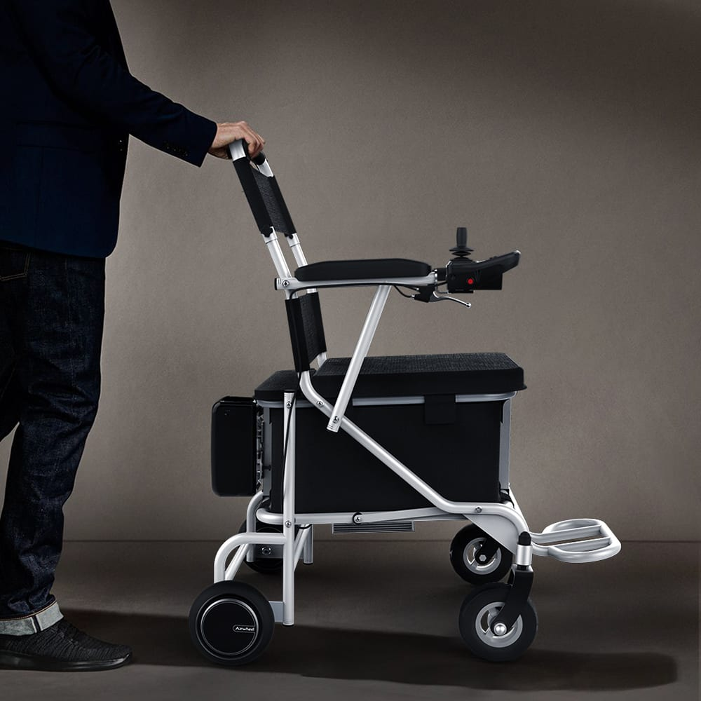 electric wheelchair from side