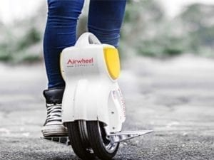Airwheel Q1 in use