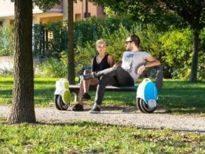 people with Airwheel Q5 electric unicycles