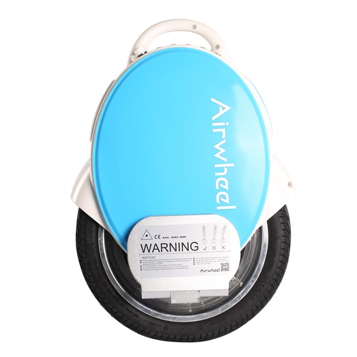 Airwheel Q5 electric unicycle from the side