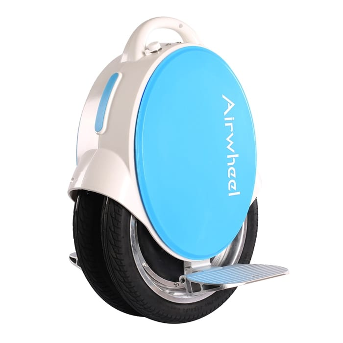 Airwheel Q5 electric unicycle blue