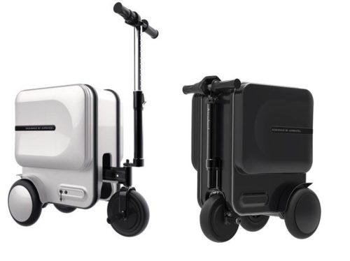 electric suitcase scooters