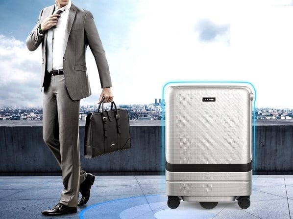 electric suitcase for business