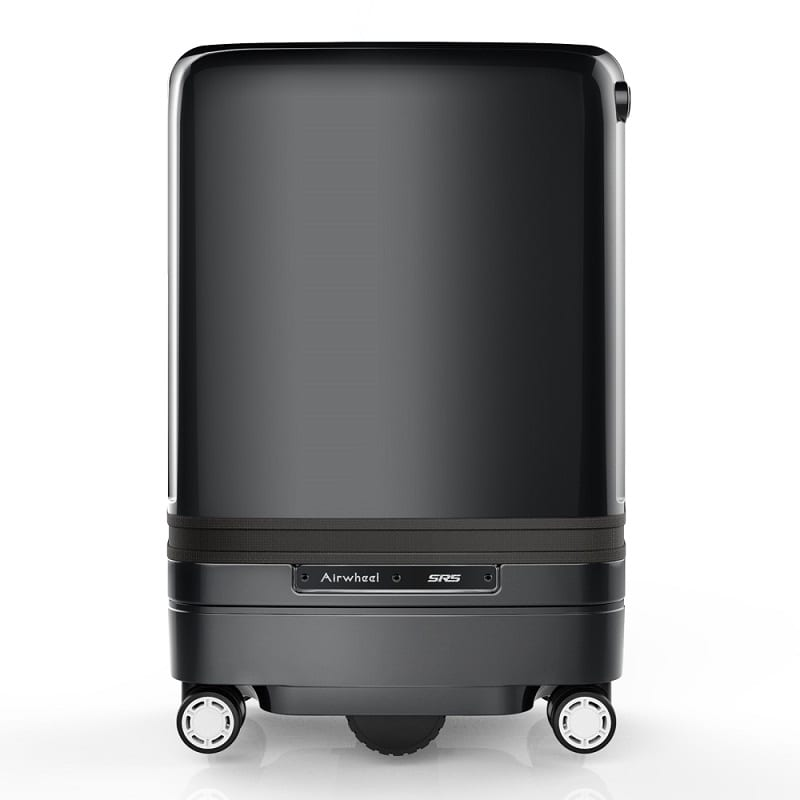 electric suitcase from the side
