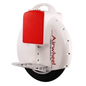 Airwheel X3 X3S electric unicycle in white