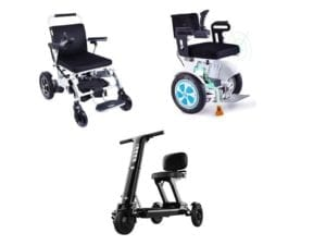 Series of electric wheelchairs by Ebikes BC