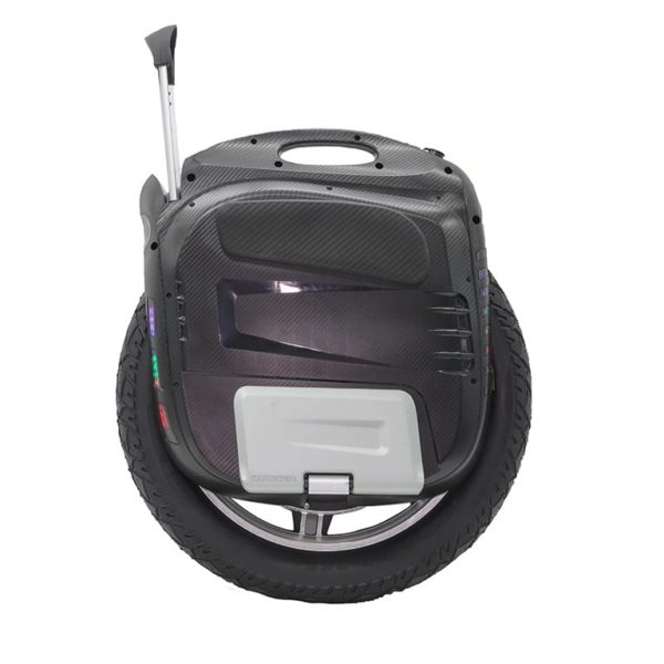Electric unicycle from the side