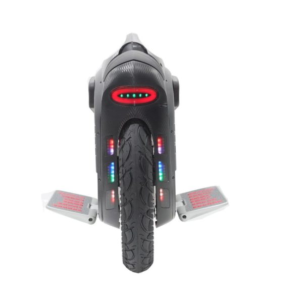 Gotway Msuper X e-unicycle from the back