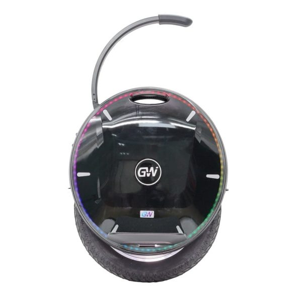 Gotway Nikola electric unicycle from the side