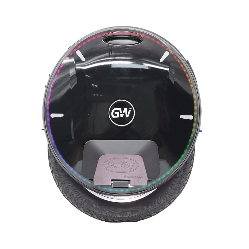 Gotway Nikola electric unicycle from side