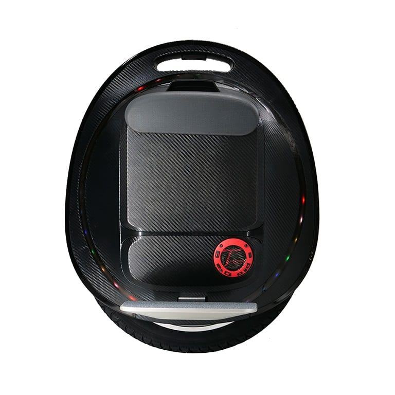 Gotway Tesra V2 black and red electric unicycle