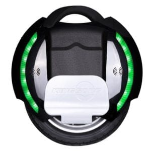 KingSong KS-14D electric unicycle from the side