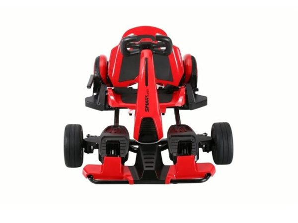 SmartKart Speed Electric Go cart with Hoverboard Red 2