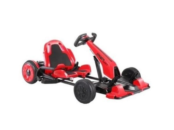SmartKart Speed Electric Go cart with Hoverboard Red