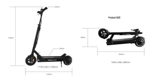Speedway Leger Electric Scooter 10