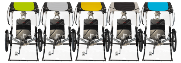 expedition couleur rain protection for recumbent trike