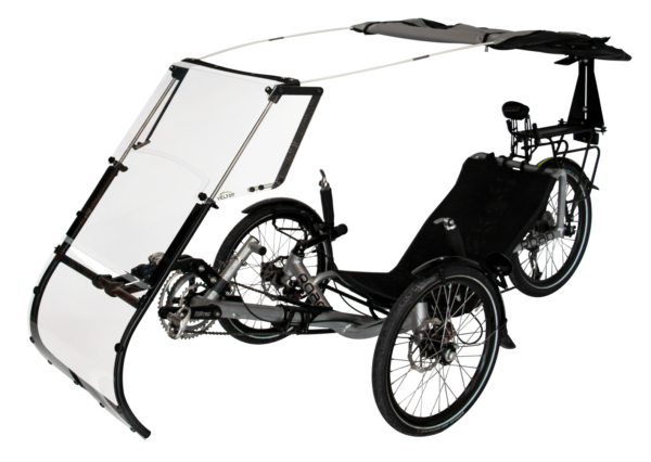 expedition decapote cote protection pluie velo couche trikes