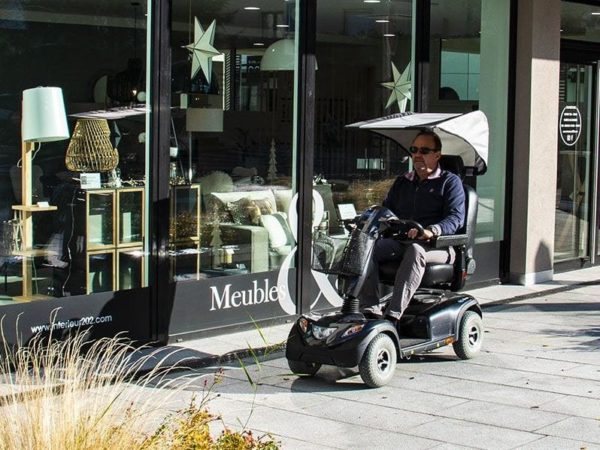 modulo sun sun protection canopy mobility scooter