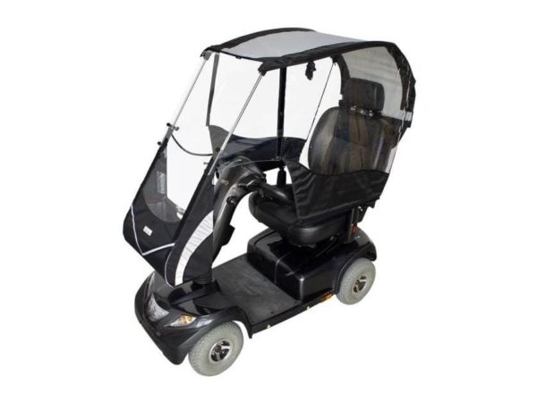 veltop cocoon mobility scooter canopy rain protection 1