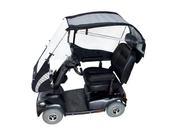 veltop cocoon rain canopy for mobility scooter