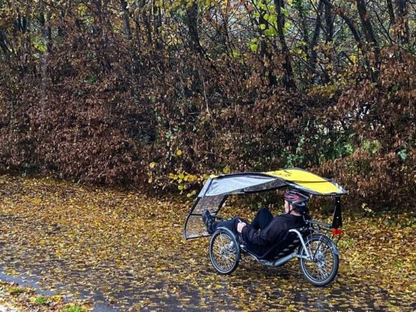 veltop expedition rain protection for recumbent umbrella for trikes canopy 1