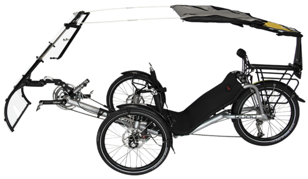veltop expedition rainprotection canopy for trikes umbrella