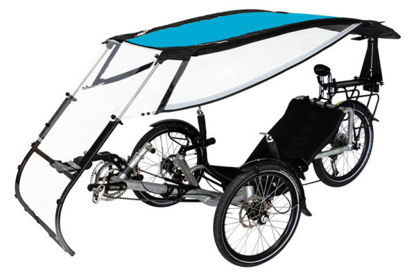 veltop expedition weather protection canopy for trikes umbrella bleu 1