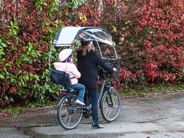 veltop family rain protection for tricycles