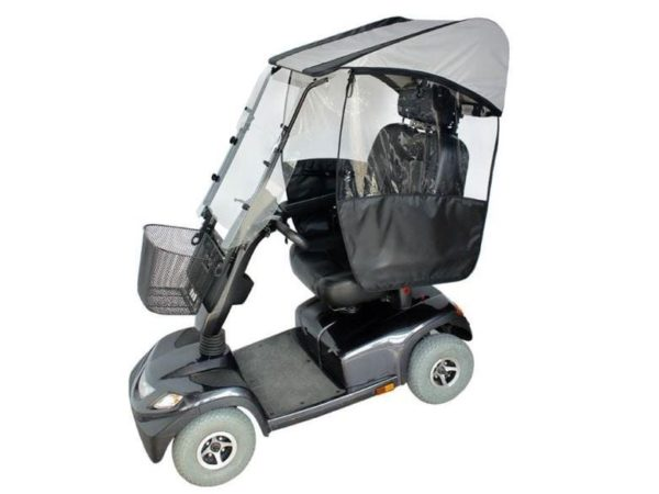 veltop modulo mobility scooter canopy rain protection weather 1