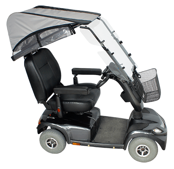 veltop modulo rain proitection canopy for mobility scooter