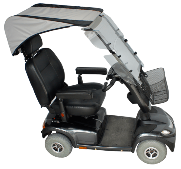 veltop modulo rain protection canopy mobility scooter
