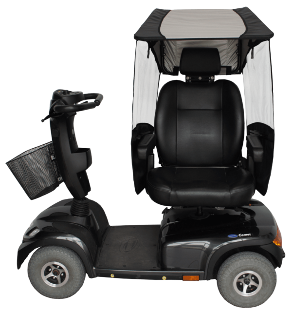 veltop modulo sun canopy for mobility scooter