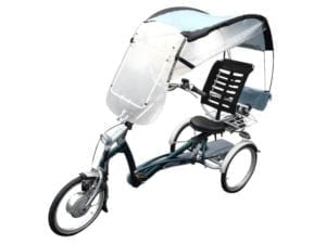 veltop confort protection rain roof three wheel bike tricycles 1