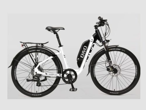 ENVO ST Ebike in black and white