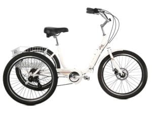 EVO Latitude Adult Trike in white